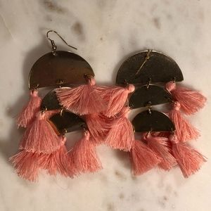 American Eagle Tassel Fringe Earrings